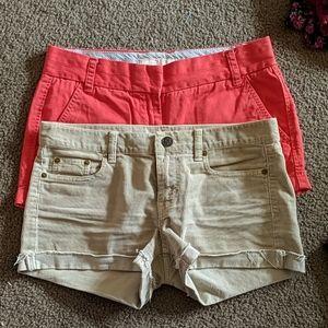 J Crew shorts lot